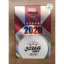 紅雙喜 DJ40+ 2020 世乒賽 3星 乒乓球