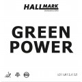 Hallmark Green Power 乒乓球 套膠